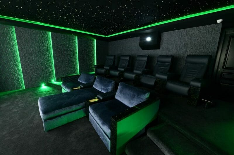 Home cinema star ceiling